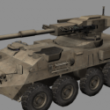 Tanque Stryker MGS