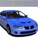 Pontiac Gto Car 3d Model