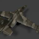 Su39 Jet Fighter مجاني 3d Model