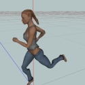 Animated Woman Rigged Free 3d Model