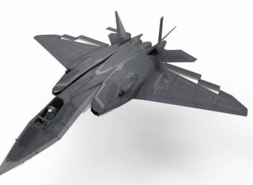 Xa-20 Strike Fighter Free Aircraft 3d Model
