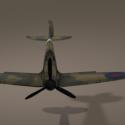 Spitfire Aircraft Free 3d Model