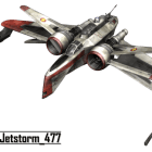 Arc170 Fighter Aircraft