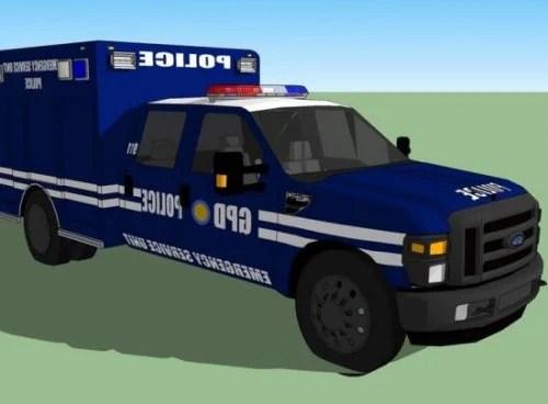 Police Emergency Car