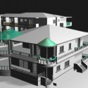 Residential House Villa Free 3d Model