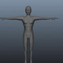 Lowpoly Basic Human Body