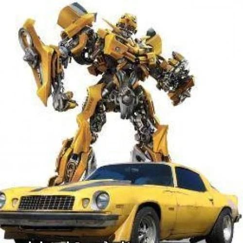 Bumblebee Robot Character
