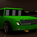 Yeşil Kroo Araba