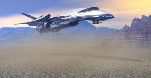 SD85 Cargo Starship Vehicle