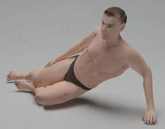 Bezpłatny model nago