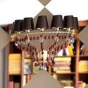 Golden Crystal Pendant Lamp