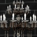 Crystal Candlestick Metal Chain Pendant 3d Max Model