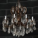 Metal Chain Crystal Chandelier