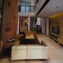 Dark Shade Minimalist Style Living Room 3d Max Model Free