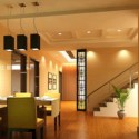 Cozy Restaurant Interior Space