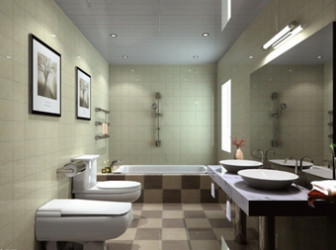 Minimalist Bathroom Design 3d Max Model Free (3ds,Max ... on Bathroom Model Design  id=48747