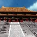Beijing Palace Museum Ancient  Building Model