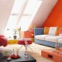Home Loft Interior Scene