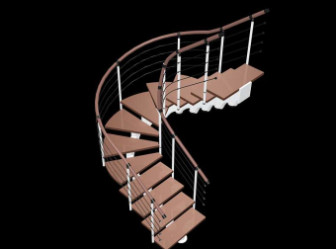 Spiral Staircase Design 3d Model 3dsMax Free Download