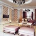 European Modern Space Living Room