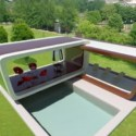 Swimming Pool 3ds Max Exterior Scene