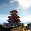 Chinese Traditional Tower Castle