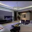 Family Living Room Interior Scene
