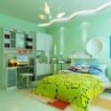 Bright Children Bedroom 3dsMax Interior Scene
