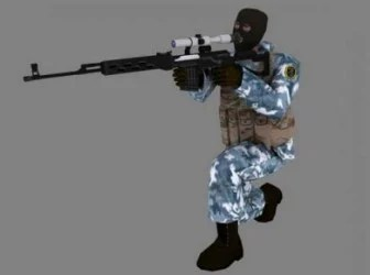 Counter Strike Game Character 3dsMax Model Free