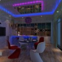 Exotic Restaurant Interior 3d Max Model Free