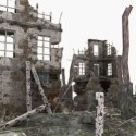 The Ruins Of Modern Architecture 3dsMax Model Scene