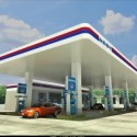 Oil Gas Station