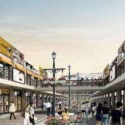 Shopping Street Exterior  Scene