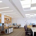 Office Interior Design Scene