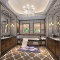 Interior Toilet Scene