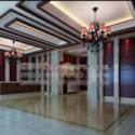 Hotel Lobby Interior Scene