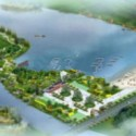 Diseño escénico del lago