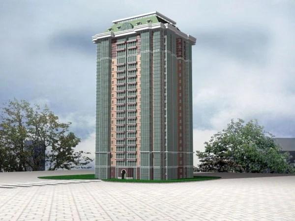Communist Apartment Block