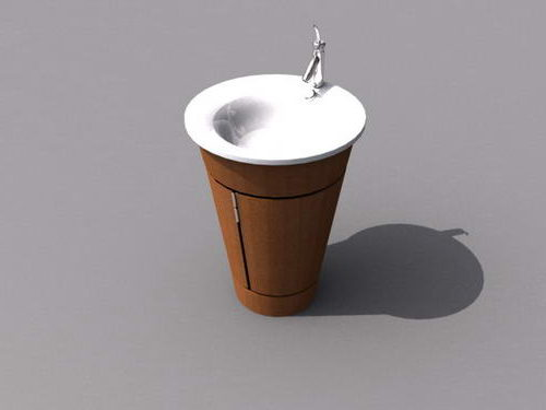 Freestanding Bowl Sink