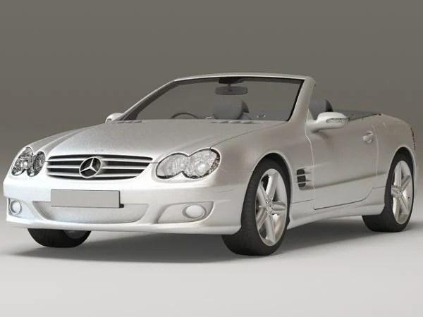 Mercedes-benz Sl 500 Convertible