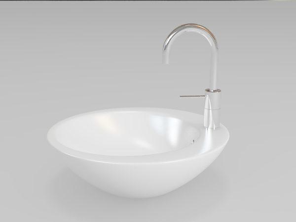 Round Bathroom Sink Vessel