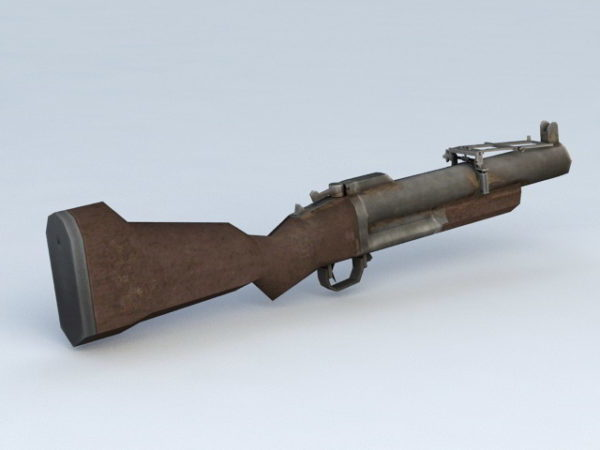 Shotgun With Grenade Launcher