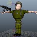 Cartoon Soldier Rig