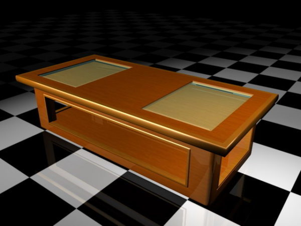 glass top display coffee table free 3d model 3ds max open3dmodel 36674