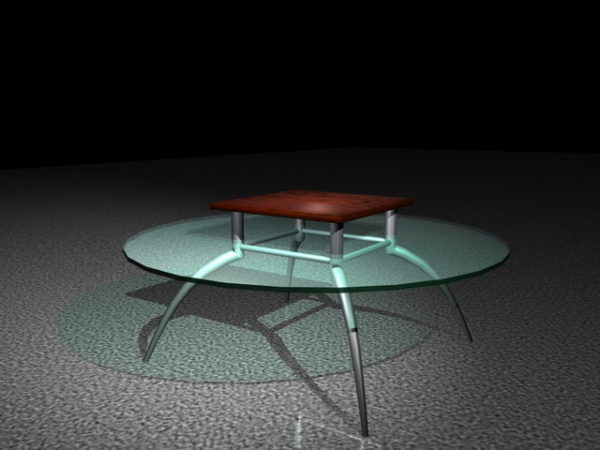 Round Class Top Coffee Table