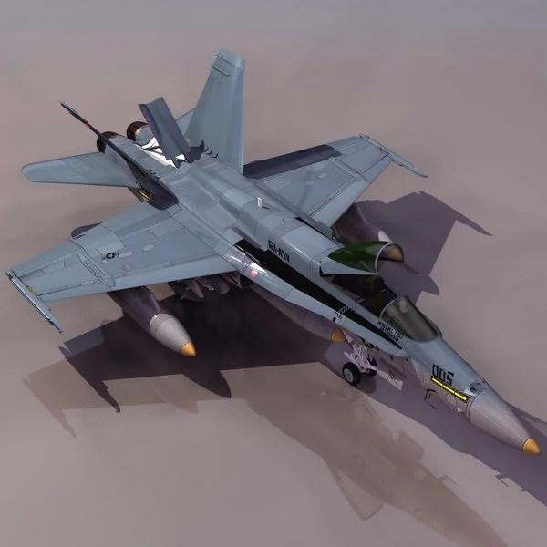 Hornet F/a-18 Multirole Fighter Aircraft