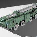 Scud B Missile Launcher Truck
