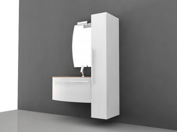 Petite vanité de salle de bain moderne gratuite 3ds Max ...
