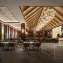 Luxury Hotel Restaurant Decoration Interior Scene