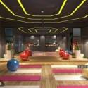 Yoga Center Interior Scene